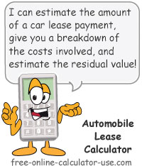automobile lease calculator