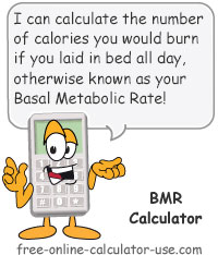Calcy sign introducing BMR Calculator