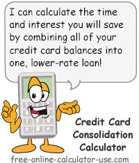 credit card loan calculator