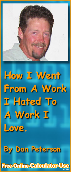 How I Went From A Work I Hated To A Work I love