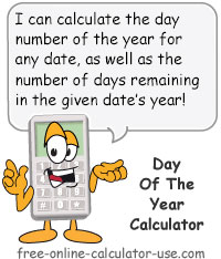 Day of Year Calculator Sign