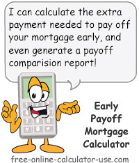 paying extra on mortgage calculator