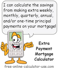 Extra Payment Mortgage Calculator for Time and Interest Savings