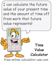 time value calculator