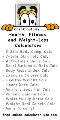 Calcy sign listing Weight Loss Calculators
